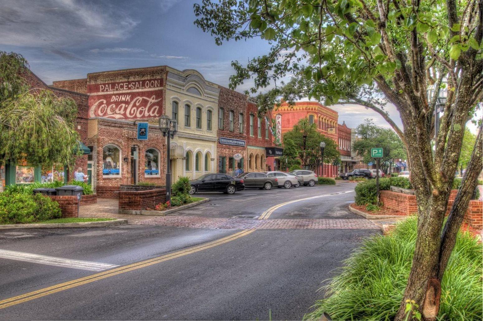 Amelia Island Historic Centre Street