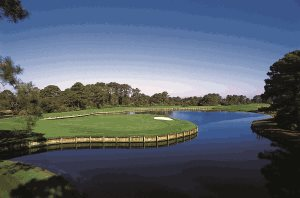 Golf course at Amelia Island