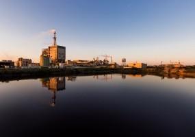 industrial plant exterior